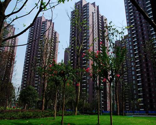 规模较大的无烟道住宅——青山工人村公租房